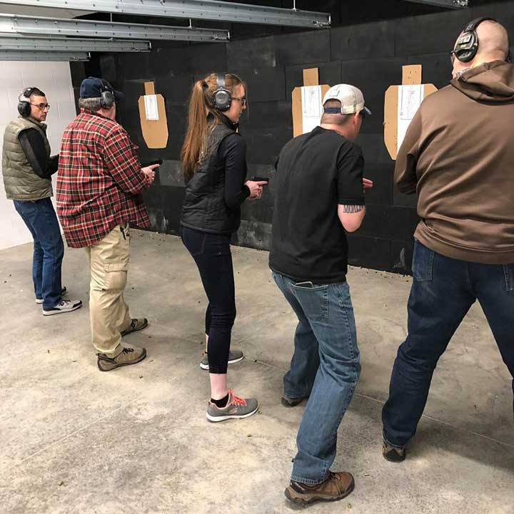 Mayday Gun Range Classes