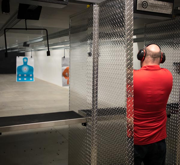 Mayday Gun Range indoor shooting range